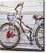 Fairy Tale Bike Flying Machine Acrylic Print