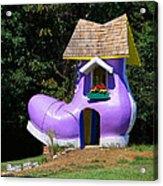 Fairy Tale Shoe House Acrylic Print