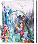 Fairy Wand Acrylic Print