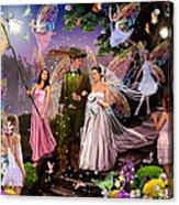 Fairy Wedding Acrylic Print