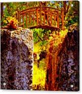 Fairytale Bridge Acrylic Print