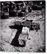 Faith Among The Ruins Acrylic Print