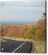 Fall Along The Country Highway 2 Acrylic Print