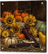 Fall Assortment Acrylic Print