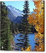 Fall At Bear Lake Acrylic Print by Tranquil Light  Photography