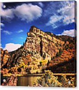 Fall At Hanging Lake Colorado Acrylic Print