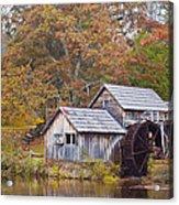 Fall At Mabry Mill Acrylic Print