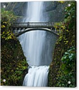 Fall At Multnomah Falls Acrylic Print