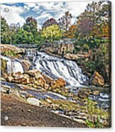 Fall At Reedy River Acrylic Print
