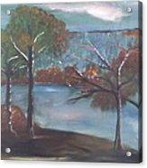 Fall At The Lake Acrylic Print