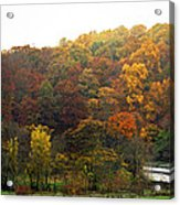 Fall At Valley Forge Acrylic Print