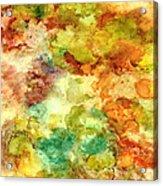 Fall Bouquet Acrylic Print