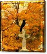 Fall Burst Acrylic Print