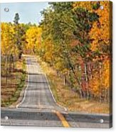 Fall Color Tour Mn Highway 1 2878 Acrylic Print