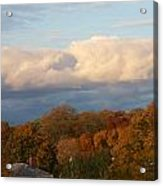 Fall Colors In New England Acrylic Print