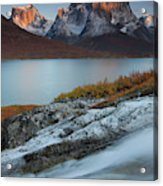 Fall Colors In Tasermiut Fiord Acrylic Print