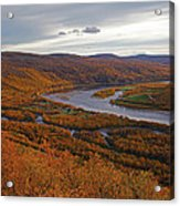 Fall Colors In The Arctic Acrylic Print
