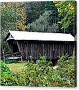 Fall Covered Bridge Acrylic Print