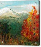 Fall Day Too Acrylic Print