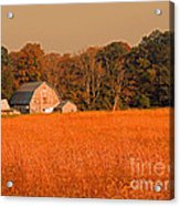 Fall Farm Acrylic Print