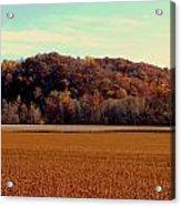 Fall Fields Acrylic Print