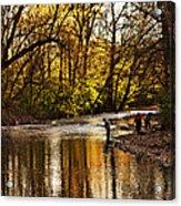 Fall Fishing Acrylic Print