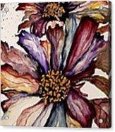 Fall Flower Colors  Acrylic Print