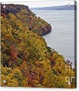 Fall Foliage On The New Jersey Palisades II Acrylic Print