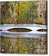 Fall Footbridge Acrylic Print