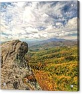 Fall From The Blowing Rock Acrylic Print