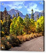 Fall Hiking In The High Sierras Acrylic Print