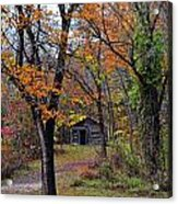 Fall Homestead Acrylic Print