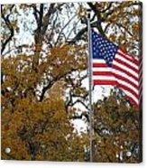 Fall In America Acrylic Print
