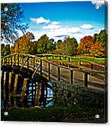 Fall In Massachusetts Acrylic Print