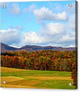 Fall In Rocky Mount Acrylic Print