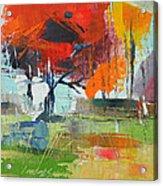 Fall In Sharonwood Park 2 Acrylic Print