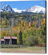 Fall In Summit County Acrylic Print