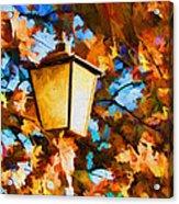 Fall In The Air Acrylic Print