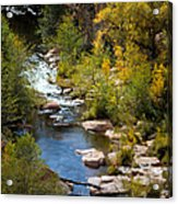 Fall In The Mountains Acrylic Print