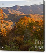 Fall In The Smoky Mountains Acrylic Print