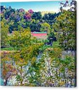Fall In West Virginia Acrylic Print