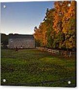 Fall In Wisconsin Acrylic Print