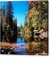 Fall In Yosemite Acrylic Print