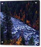 Lower Mesa Falls Acrylic Print