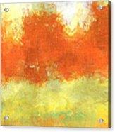 Fall Meadow Acrylic Print