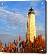 Fall Morning At Lighthouse Point Acrylic Print