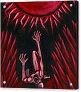 Fall Of Icarus Acrylic Print