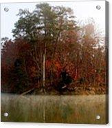 Fall On Melton Hill Lake Acrylic Print