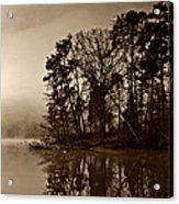 Fall On Melton Hill Lake V Acrylic Print