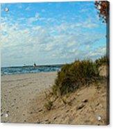 Fall On The Beach Acrylic Print